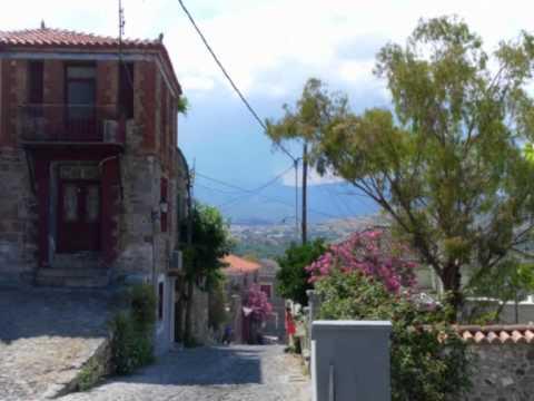 Řecký ostrov Lesbos