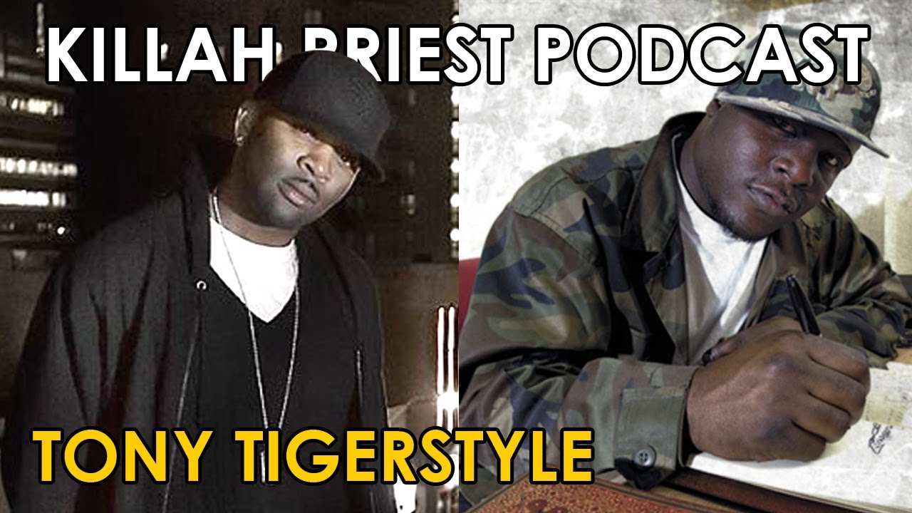 Killah Priest LIVE - Tony Tigerstyle