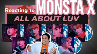 MONSTA X ALL ABOUT LUV FULL ALBUM REACTION!!!  FEATURE FRIDAY