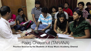 Raag Chayanat practice Session by the Students of Alaap Music Academy, Chennai.