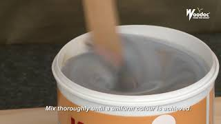 Woodoc Colours - English