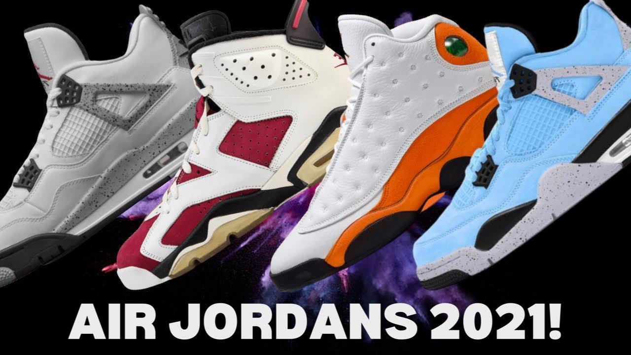 LEAKED! Nike Air Jordan 2021 LINEUP