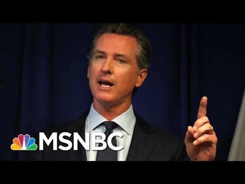 California Cases Growing Slower Than Other Large States | Morning Joe | MSNBC