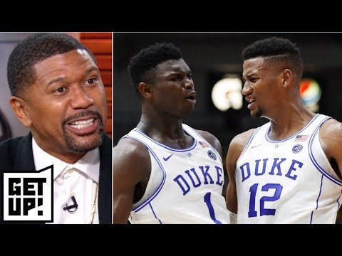 Coach K in control of Duke after Zion, Big Three humbled by loss – Jalen Rose   Get Up!