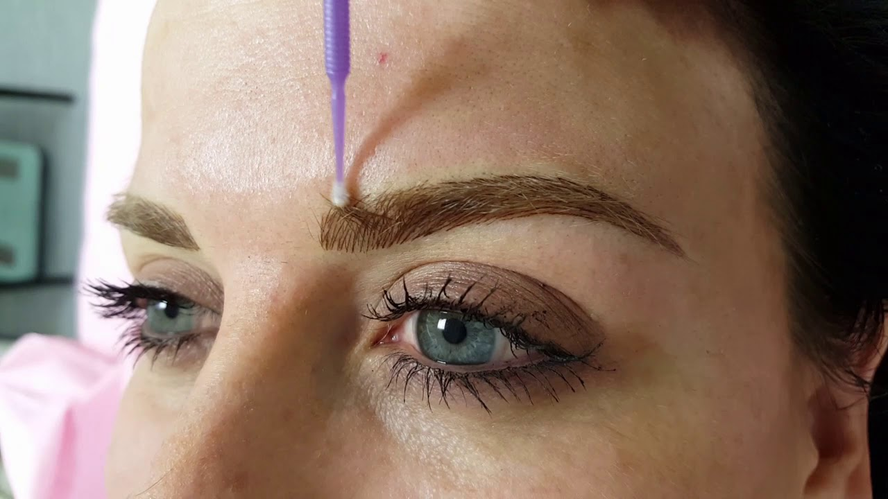 Eyebrows Cosmetic Tattoo Permanent Makeup by El Truchan @ Perfect Definition