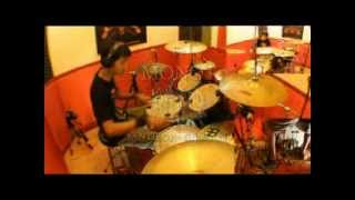 Burgerkill Only The Strong Drum Cover by Monot