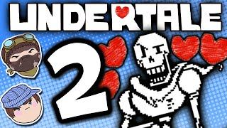 Undertale: What the Font!? - PART 2 - Steam Train