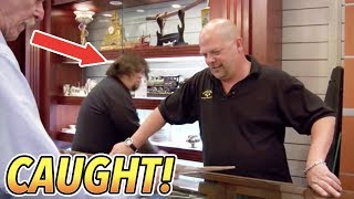 Chumlee Caught Stealing From The Pawn Stars