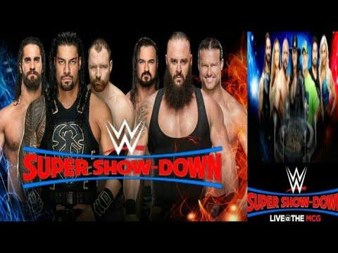 Wwe super showdown date 6
