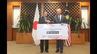 Malaysia sampaikan sumbangan kepada Jepun