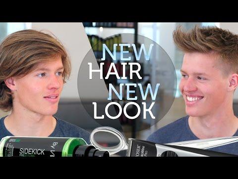 NEW HAIR NEW LOOK ★ MENS LONG TO SHORT HAIR TRANSFORMATION
