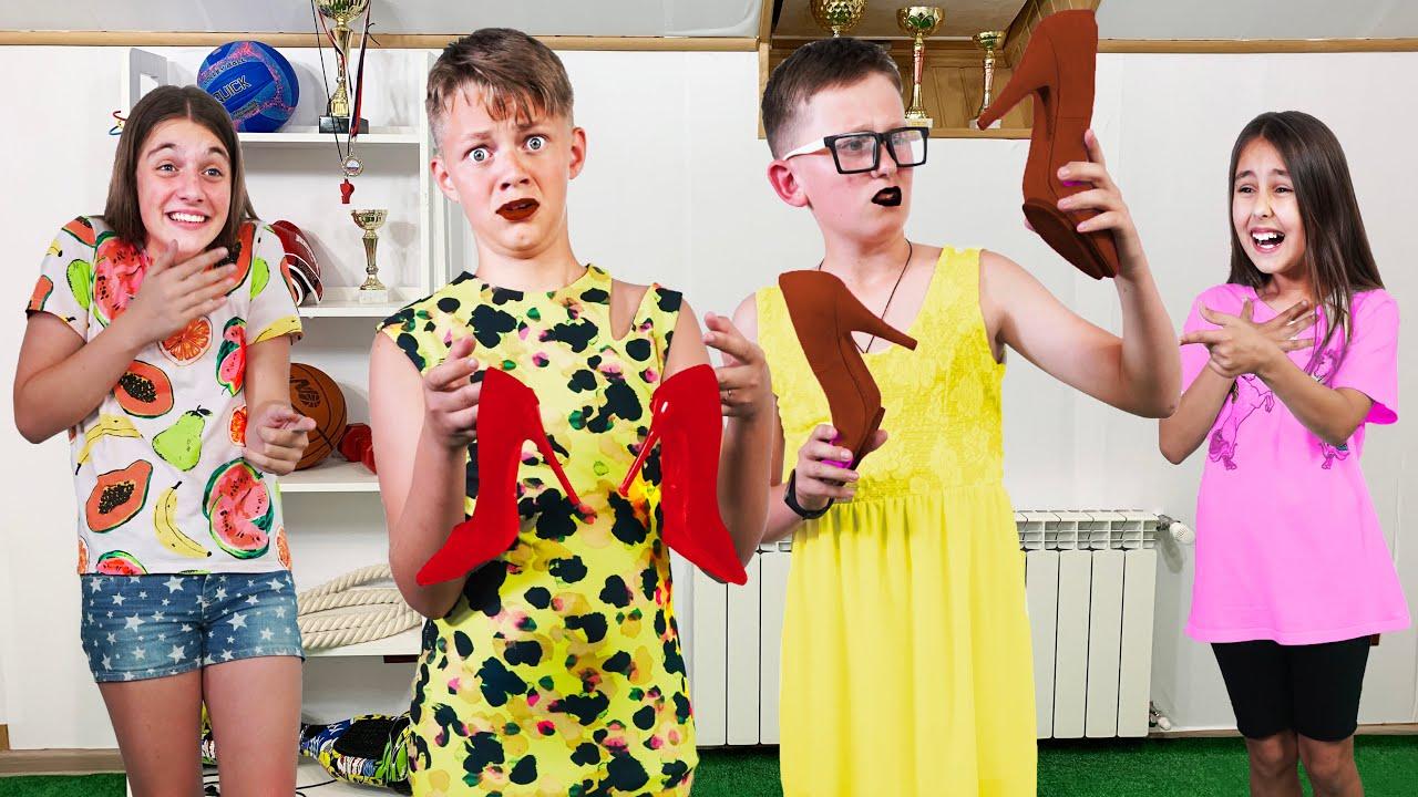 ¿Quieren los chicos ser modelos? ¡Eva decide quién ganará el gran premio de $ 1,000!