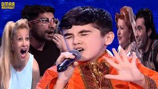 Omar Arnaout habibi - أغنية أخرى للطفل عمر الذي أبهر الجمهور بغنائه بالعربية