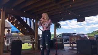 "Gabby Barrett performs ""Danger's Cabana Concert Series"" 2018"