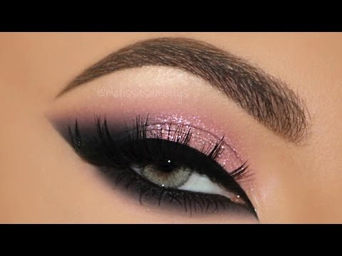 Pink Glam Cat Smokey Eyes Makeup Tutorial