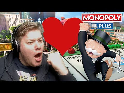 Monopoly und Brammen IN LOVE 🎮 Monopoly Plus #4