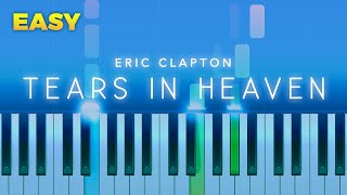 Eric Clapton - Tears In Heaven EASY Piano TUTORIAL by Piano Fun Play