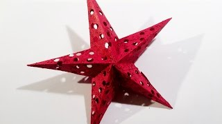 Template for Christmas star : Christmas Star : Christmas decoration - Christmas tree decoration