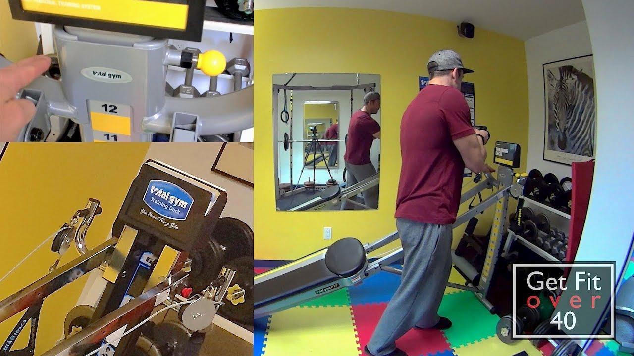 Total gym fit versus xls comparison review youtube