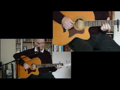 how to play these dreams on guitar