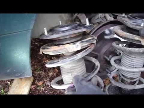 How To Replace Coil Spring And Strut Assembly Front