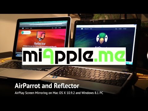 AirParrot and Reflector: AirPlay Screen Mirroring and Desktop Extension on Mac and Windows