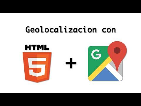 Geolocalizacion con HTML5 y Google maps API | Parte 1