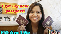 PHILIPPINE PASSPORT RENEWAL & CHANGE TO MARRIED NAME | Vlog#29