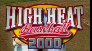 High Heat Baseball 2000 (Intro) - PS 1