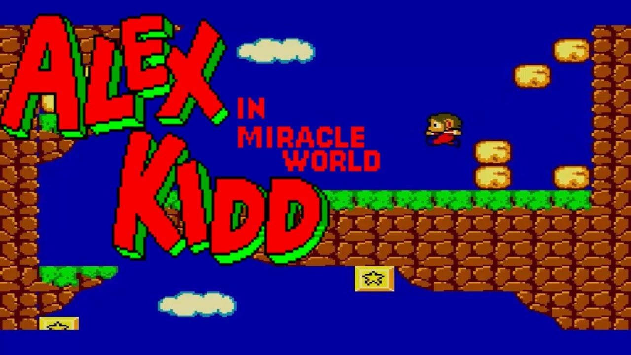 Alex Kidd In Miracle World Longplay Sega Master System Youtube