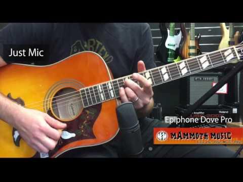 Epiphone Dove Pro @ Mammoth Music