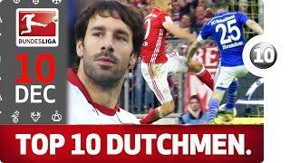 Van Nistelrooy, Robben, Huntelaar & More - Top 10 Dutchmen - Bundesliga 2016 Advent Calendar 10