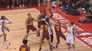 Tacko Fall A Man Among Boys!!! Dominates NBA Players In 2019 NBA Summer League! Celtics vs Cavaliers