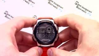 Годинник Casio Illuminator AE-1000W-4B - відео огляд + інструкція по налаштуванню від PresidentWatches.Ru