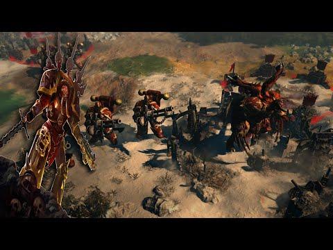 I Rip And Tear My Way Through The Tyranid Swarm | Warhammer 40k: Gladius Chaos Space Marines