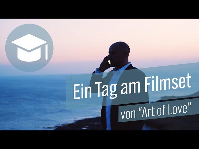 Ein Tag am Filmset von «Art of Love»