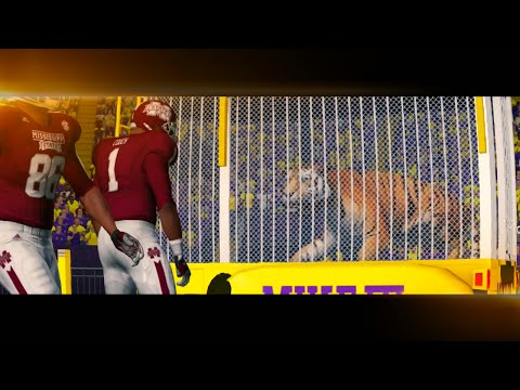 NCAA Football 14 Season 2016 2017 Mississippi State Bulldogs vs LSU Tigers
