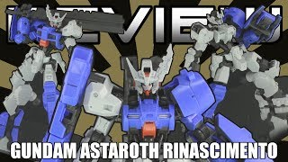 HG Gundam Astaroth Rinascimento Review - IRON BLOODED ORPHANS GEKKO - ガンダムアスタロトリナシメント