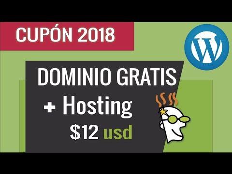 Tutorial + Cupón Hosting 2018 |  87% de Descuento + Dominio Gratis