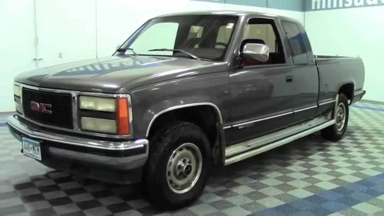 1992 gmc sierra 1500 club coupe 1f140722a youtube 1992 gmc sierra 1500 club coupe