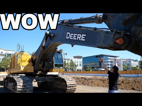 💰 Job Site Tour Of Equipment - Massive Excavators And Bulldozers ($6M In Equipment)