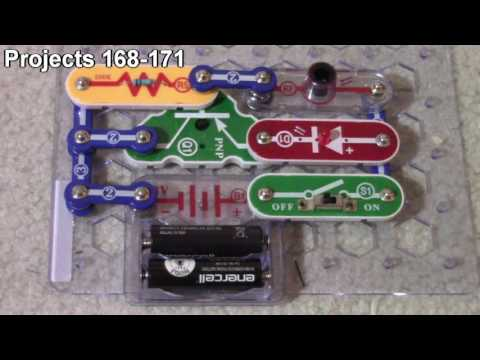 ELENCO Snap Circuits Projects 168 - 175