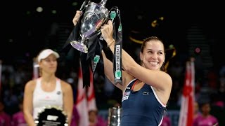 Dominika Cibulkova vs Angelique Kerber | 2016 WTA Finals Singapore Final Highlights