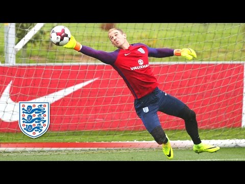 Super Agility Goalkeeper Test - Hart/Heaton/McCarthy prepare for Slovakia | Inside Training
