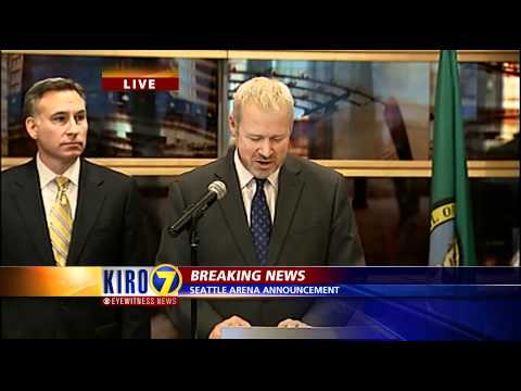 Seattle Arena Proposal Announcement - Feb 16, 2012