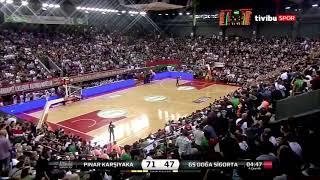 Video 234 | Pınar Karşıyaka, Galatasaray Doğa Sigorta'yı 84-55 mağlup ederek gövde gösterisi yaptı😎