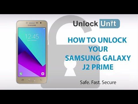 HOW TO UNLOCK Samsung Galaxy J2 Prime