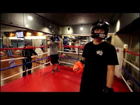 KBI 헤비급(90kg) 우승회원 vs 뻔치 가벼운 복싱 스파링! boxing sparring! 면목동 불독복싱!