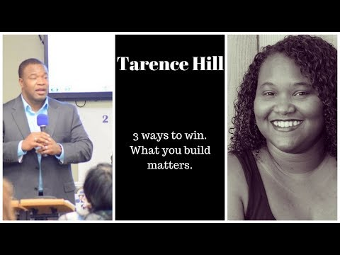 What you builds matters more than your INCOME. 3 ways to win with Tarence Hill