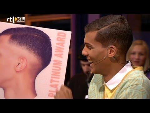 Download Humberto reikt Stromae platinum album uit - RTL LATE NIGHT